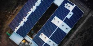 Emissio Solaranlage von oben